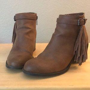 Sam Edelman Shoes - Sam Edelman Fringe Ankle Booties